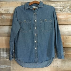 Winter blow out bundle for 4/$25    Forever 21 denim button down shirt